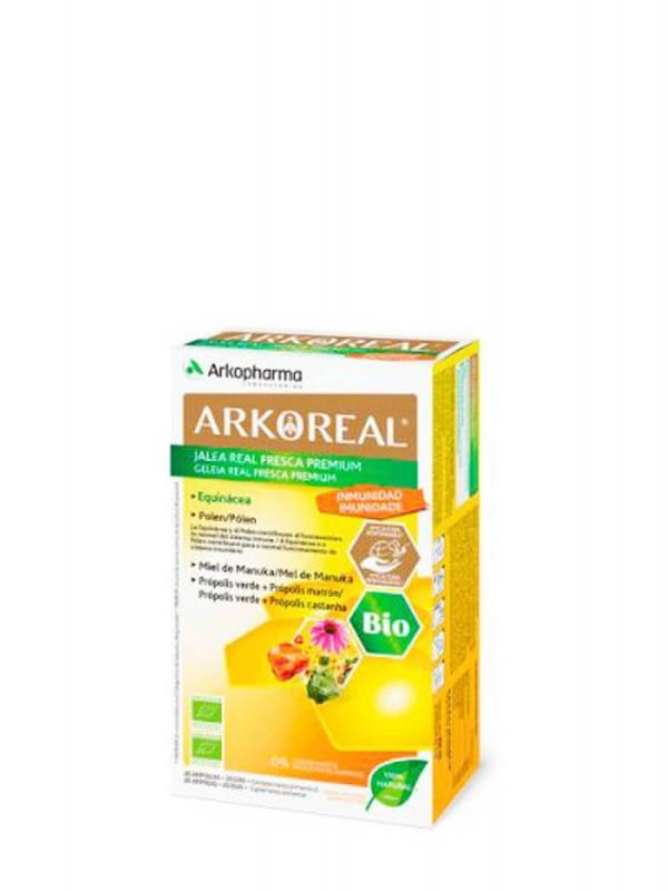 Arkopharma arkoreal jalea real inmunidad bio 20 ampollas