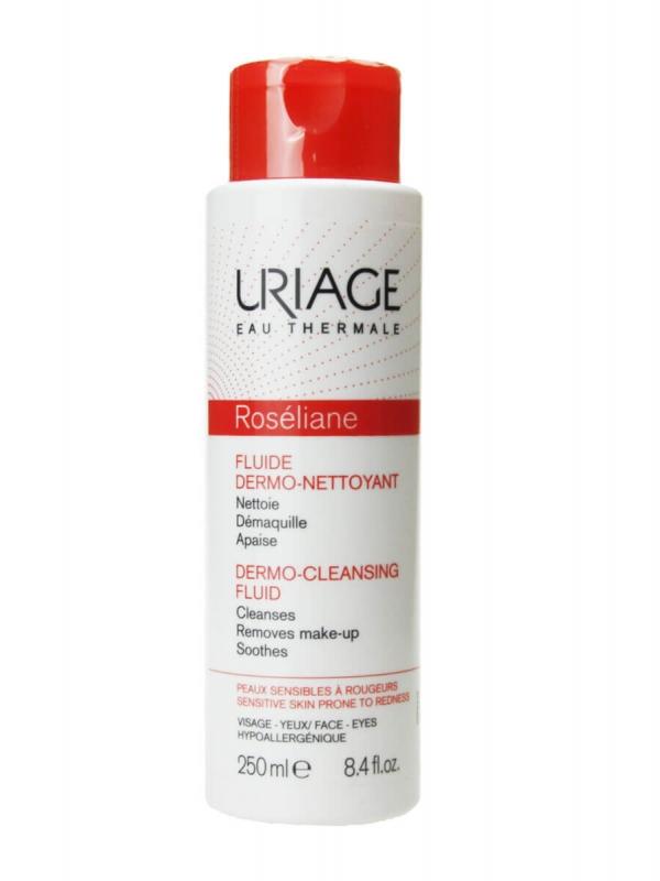 Uriage roseliane fluido dermo limpiador 250 ml