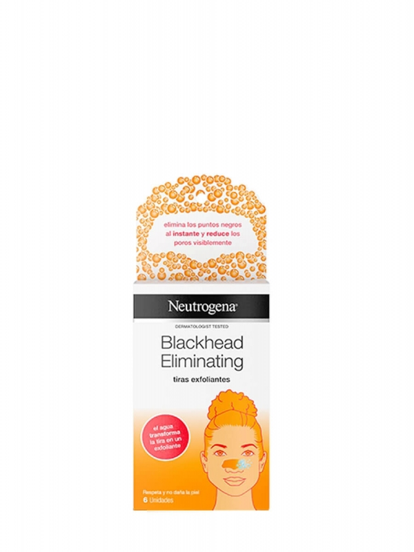 Neutrogena blackhead eliminating tiras exfoliantes 6 unidades