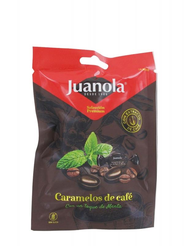 Juanola caramelos de café con menta 45 gr