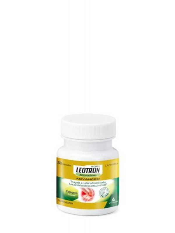 Leotron advanced colágeno ovomet 30 cápsulas