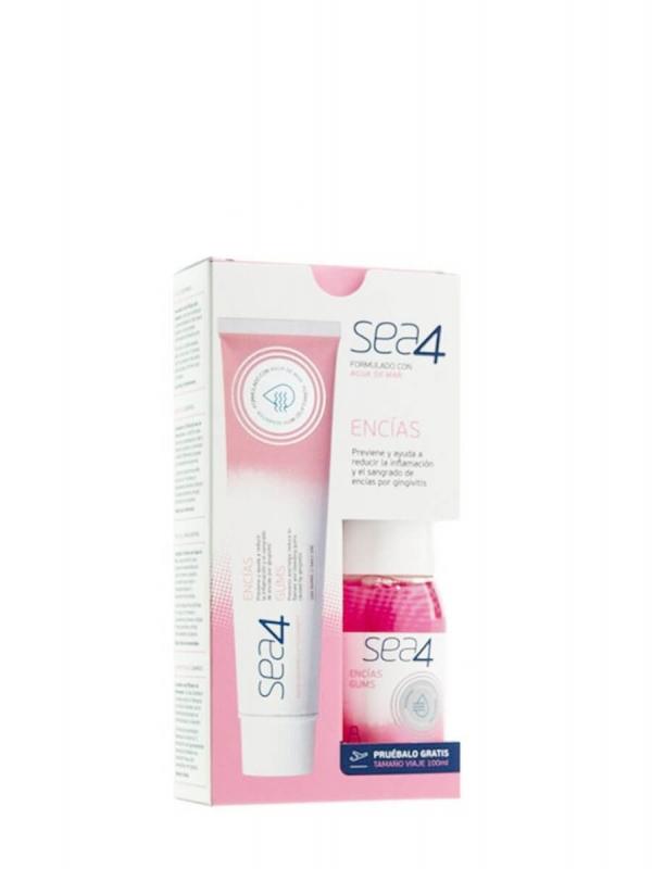 Sea4 encías pasta dental 75 ml