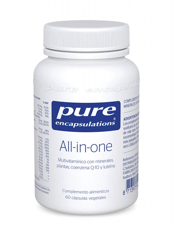 Pure encapsulations all in one 60 capsulas