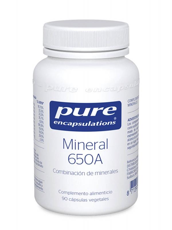 Pure encapsulations mineral 650a 90 capsulas