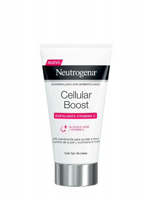 Neutrogena cellular boost vitamin c exfoliante 75ml