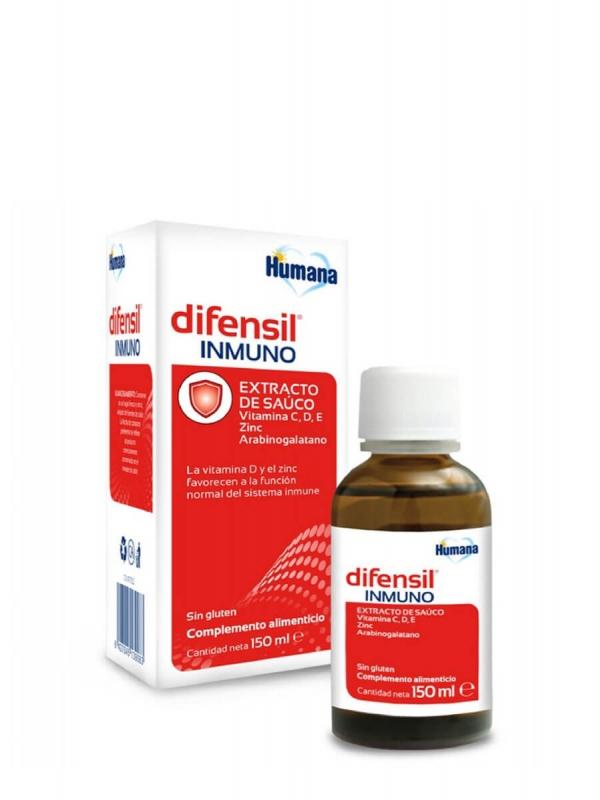Humana difensil inmuno 150 ml