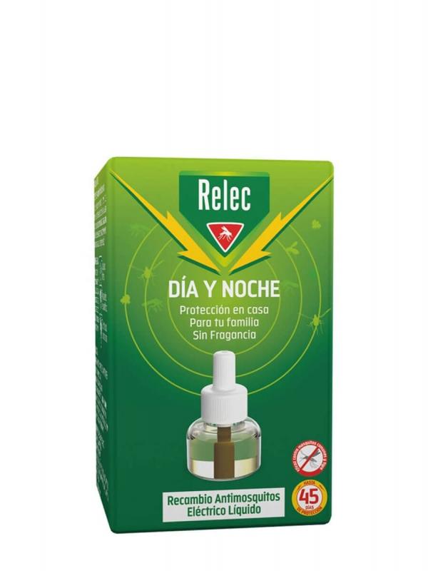 Relec día y noche recambio antimosquitos eléctrico 35ml