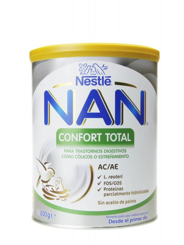 Nestlé nan confort total ac/ae 800gr