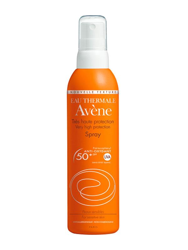 Spray solar muy alta protección avène  200ml