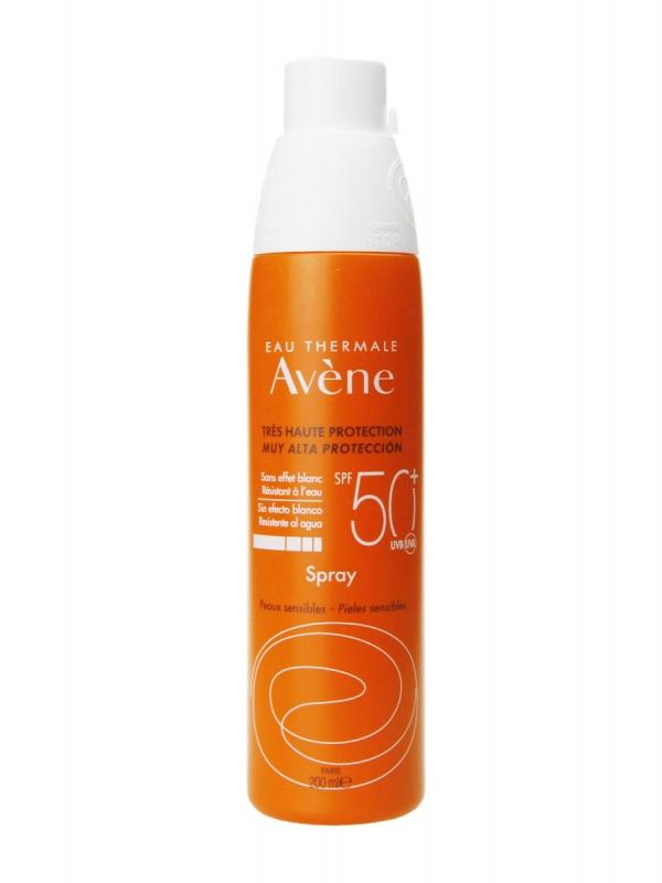 Avène spray solar spf 50+ 200 ml