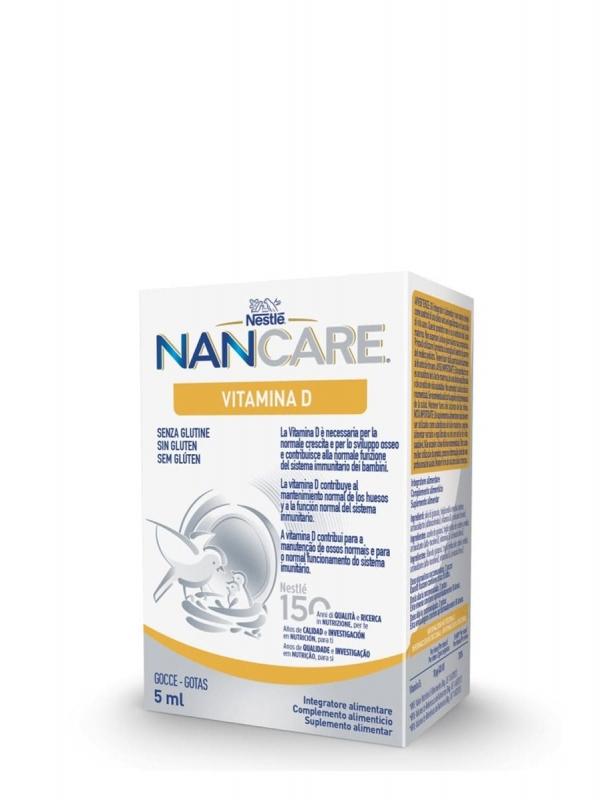 Nestlé nan care vitamina d gotas 5 ml
