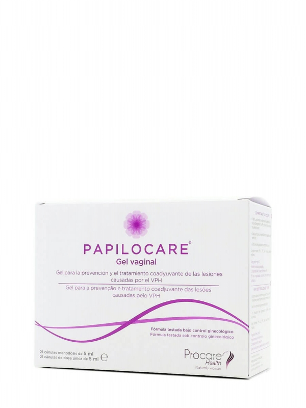 Papilocare gel vaginal 21 cánulas