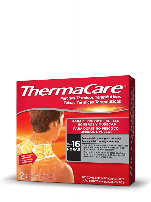 Thermacare parches térmicos cuello hombro 2 unidades