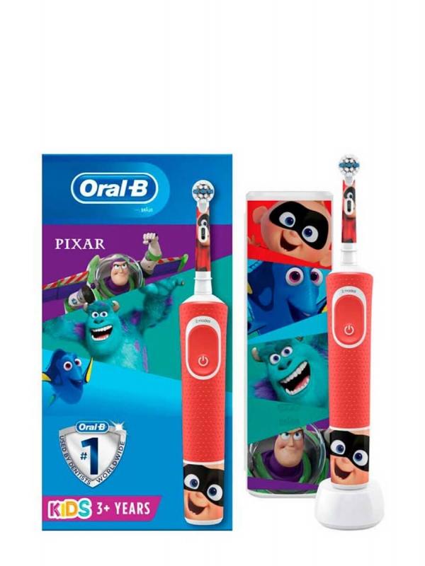 Oral b cepillo eléctrico infantil pixar + estuche gratis