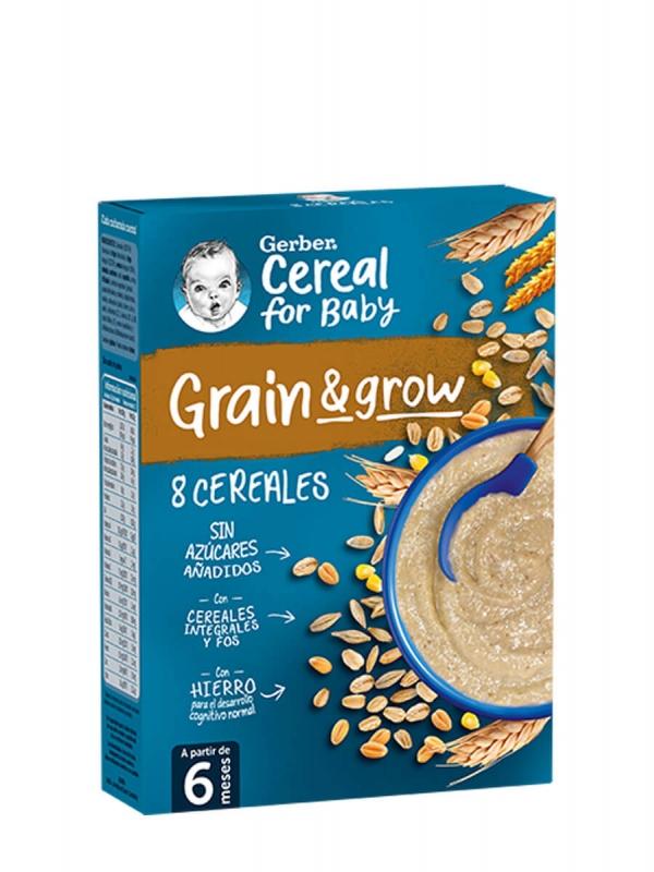 Nestlé gerber papilla 8 cereales 250gr