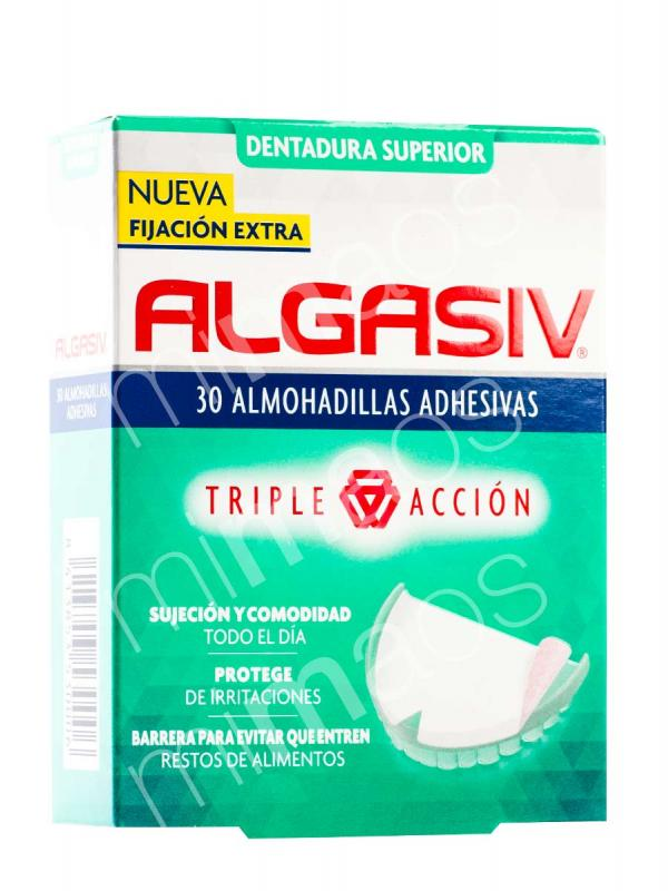 Almohadillas adhesivas superior algasiv  30 unidades