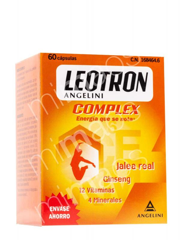 Leotron complex angelini 60 cápsulas