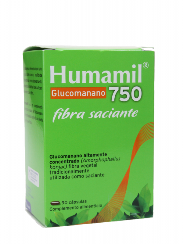 Aquilea humamil glucomanano 90 cápsulas