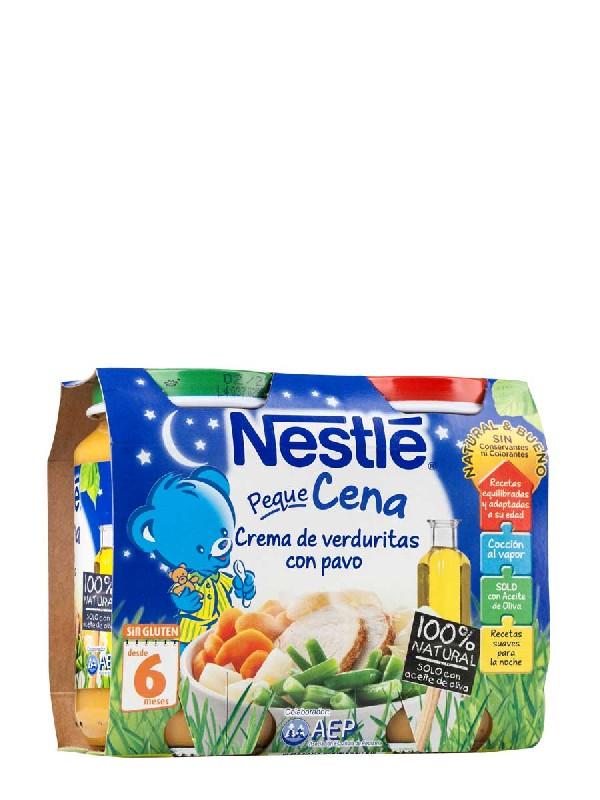 Nestle  cena puré de verdura 200 gr 2 unidades