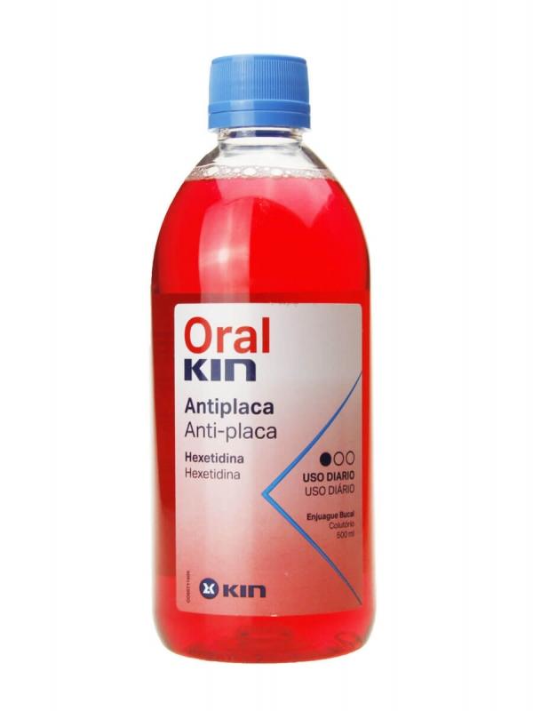 Oralkin enjuague bucal 500 ml