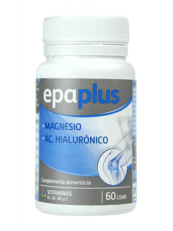 Magnesio y ácido hialurónico epaplus 60 cápsulas