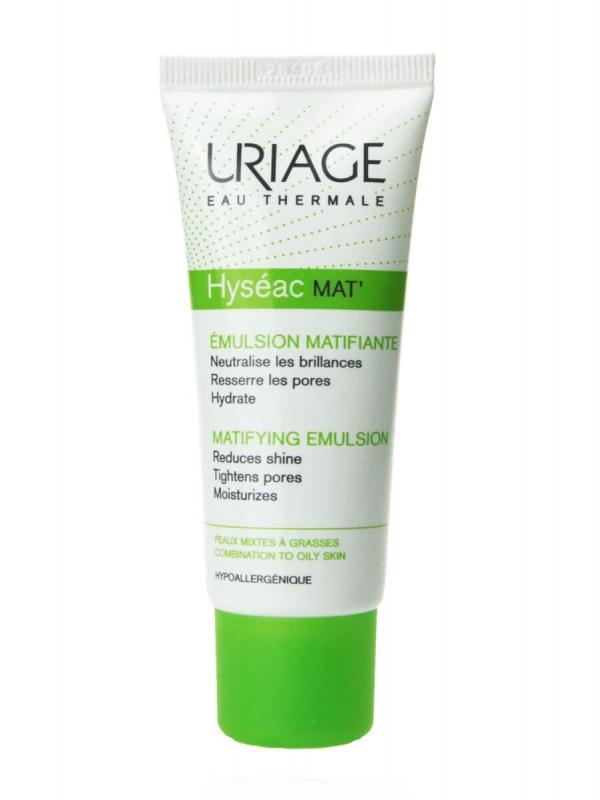 Uriage hyseac mat emulsión hidratante matificante 40 ml