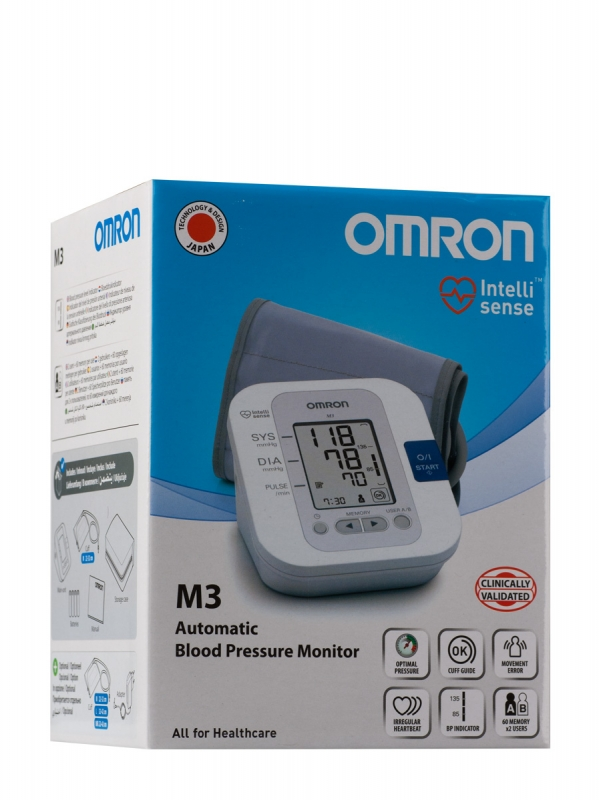 Omron tensiometro digital m3 brazo