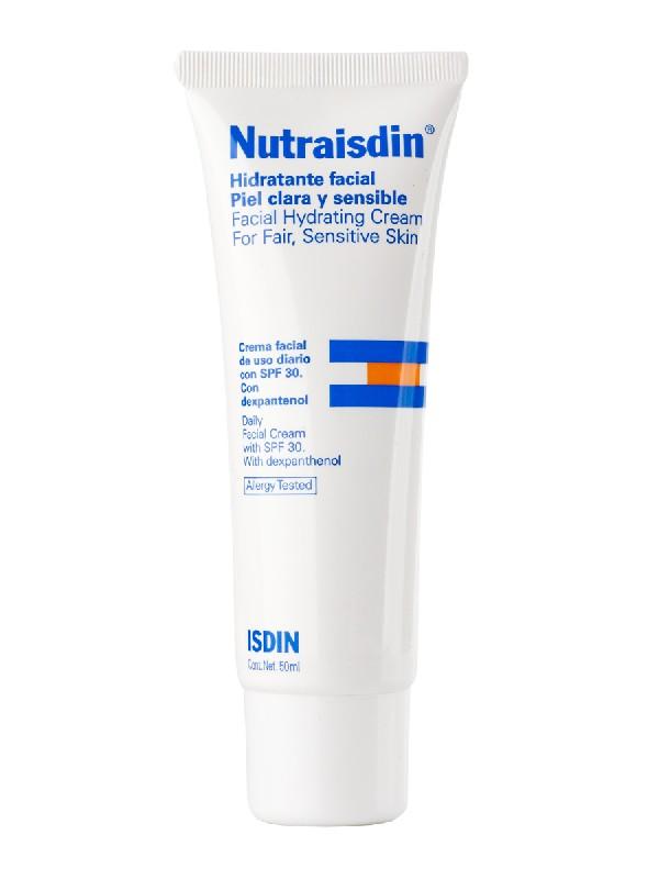 Isdin nutraisdin hidratante facial spf30  piel clara 50 ml