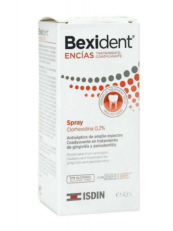 Bexident spray 40 ml clorhexidina 0,2% encías