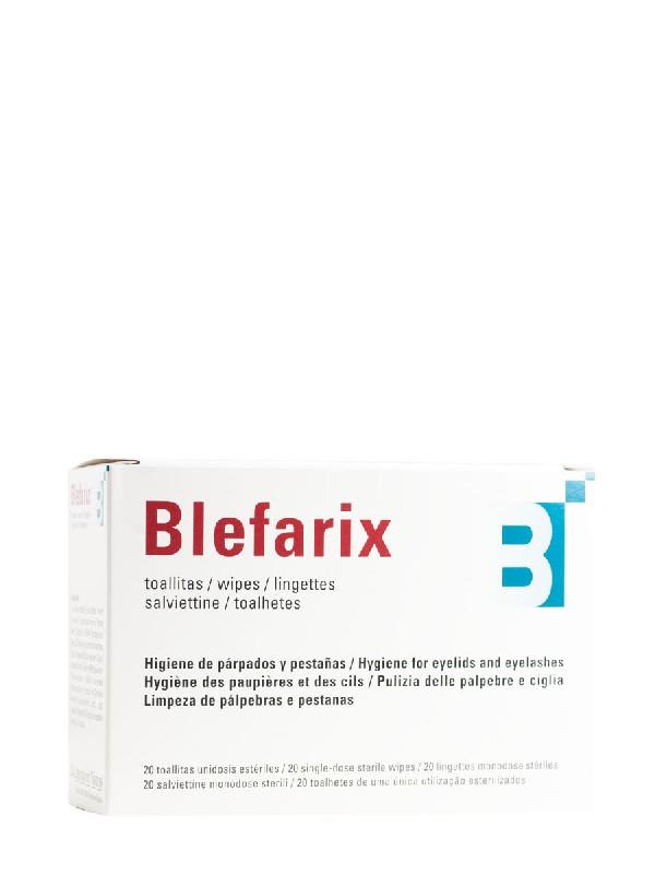 Blefarix, 20 toallitas unidosis estériles