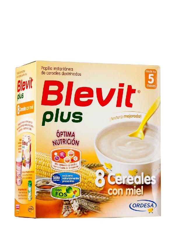 Blevit plus 8 cereales con miel 600 gramos