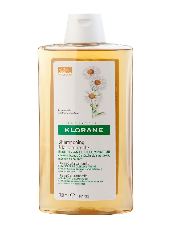 Klorane champu reflejos dorados al exto de camomila 400 ml