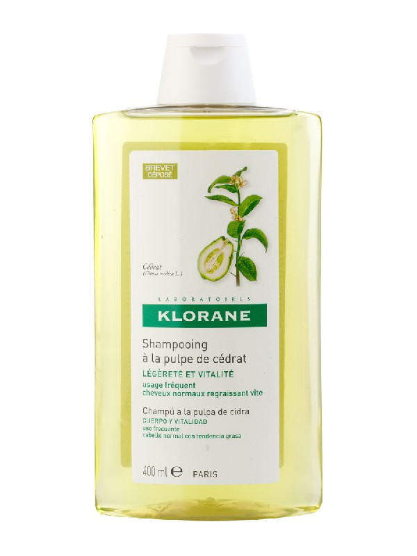 Klorane champu a la pulpa de cidra  400 ml
