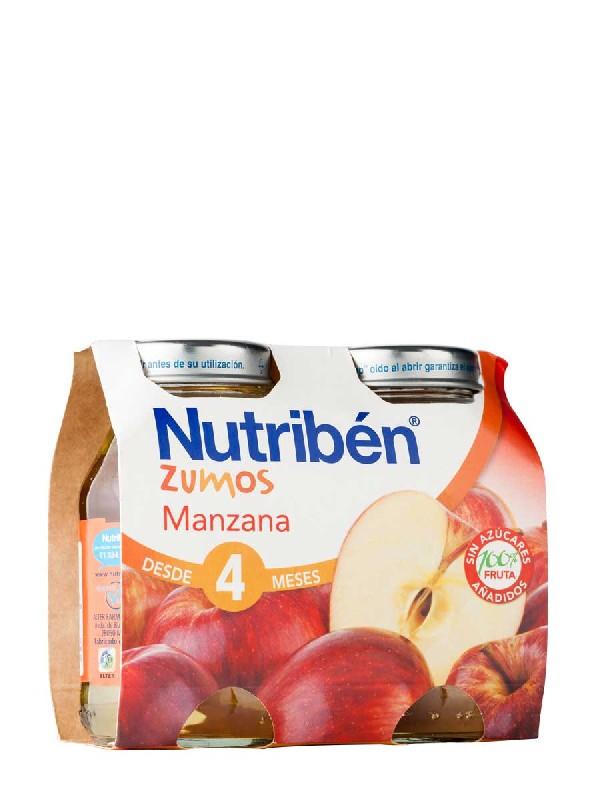 Nutriben zumo manzana 130 ml 2 unidades bipack