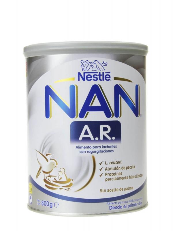 Nestlé nan ar leche especial de inicio 800 gr