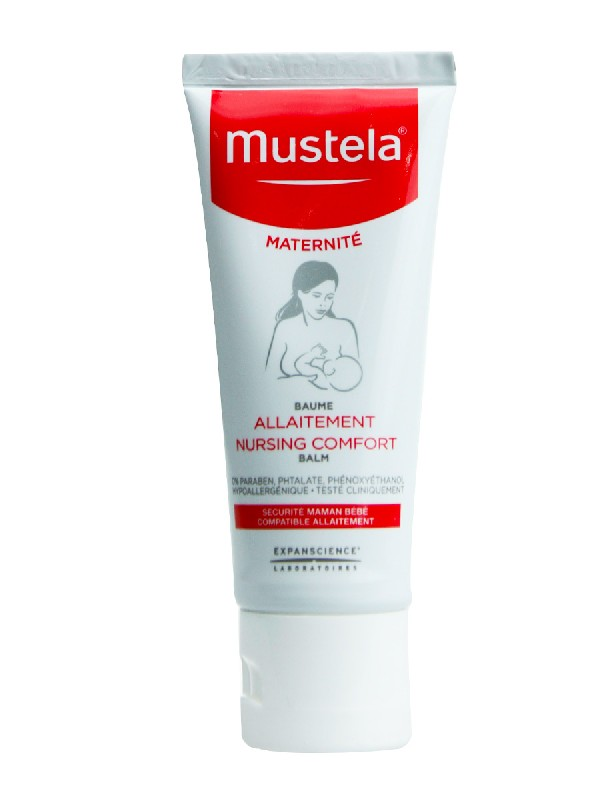 Mustela bálsamo lactancia cuidado pezón