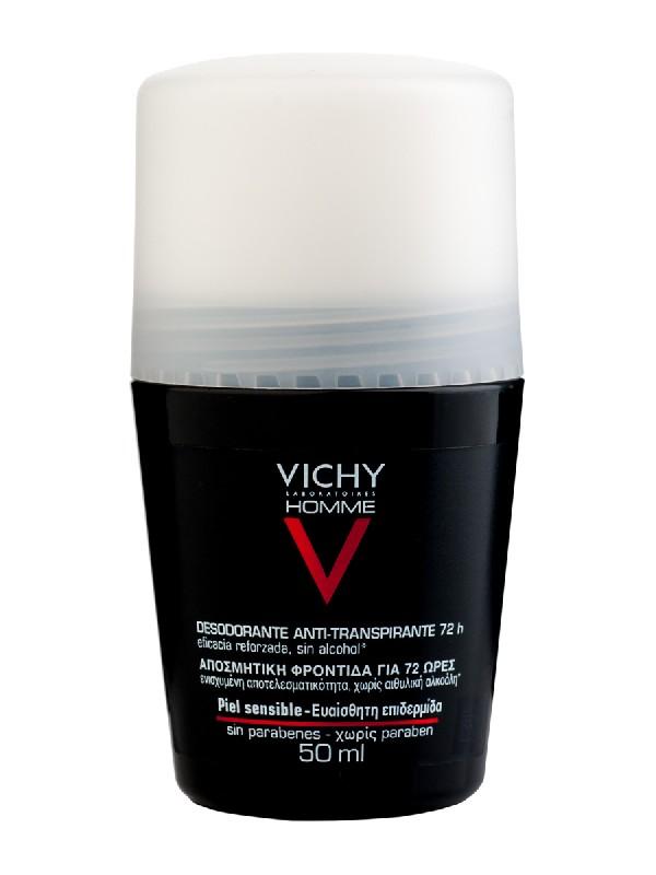 Vichy desodorante regulacion intensa homme 50 ml