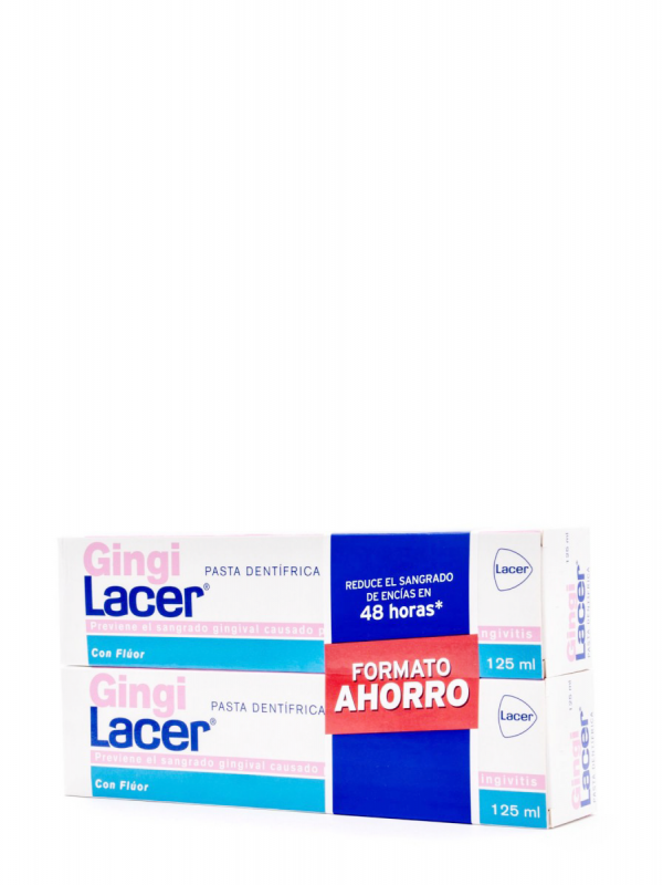 Lacer gingilacer duplo pasta 125 ml