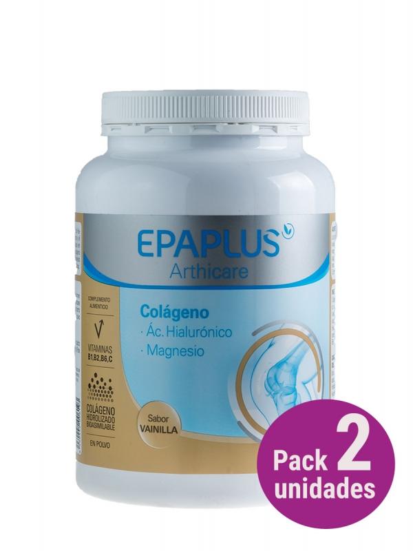 Epaplus ácido hialurónico + magnesio sabor vainilla pack 2 unidades
