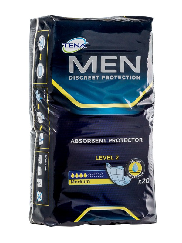 Tena for men level-2 20 unidades