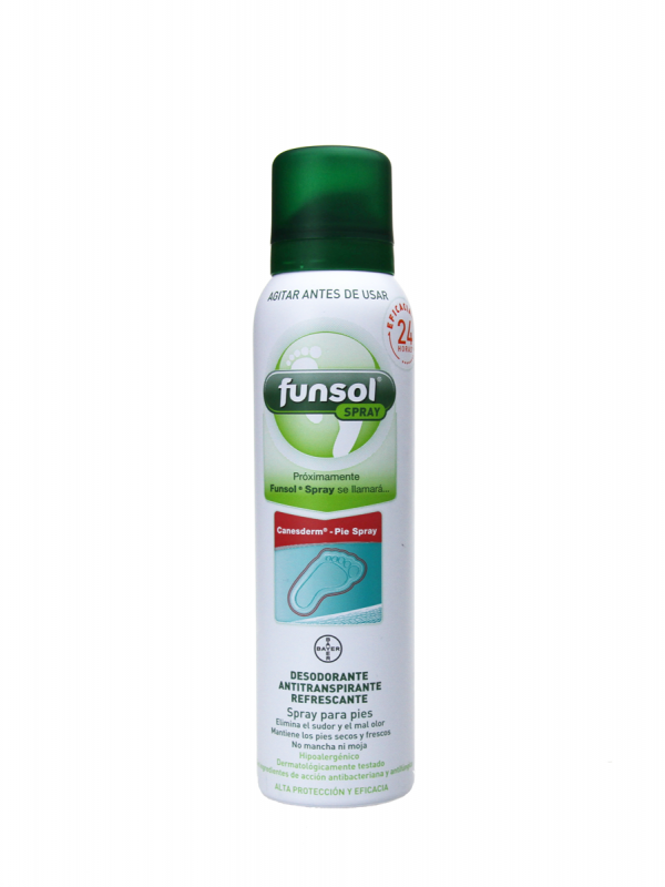 Funsol desodorante y antitranspirante en spray 150 ml