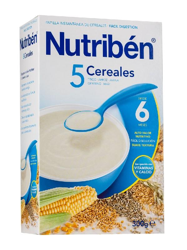 Nutriben 5 cereales 300 gr