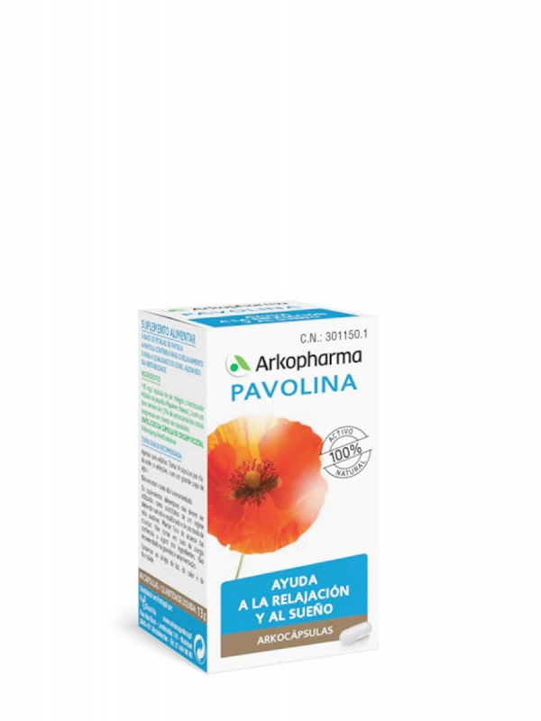 Arkopharma arkocápsulas pavolina 48 cápsulas