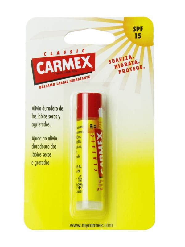 Carmex classic bálsamo labial spf 15 4.25 gr