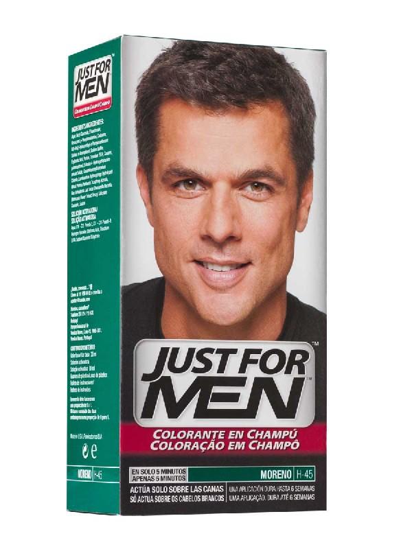 Just for men champu colorante 30 cc moreno