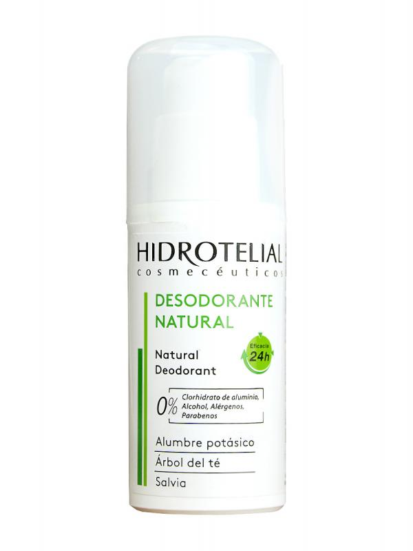 Desodorante en spray natural plus de hidrotelial, 75 ml