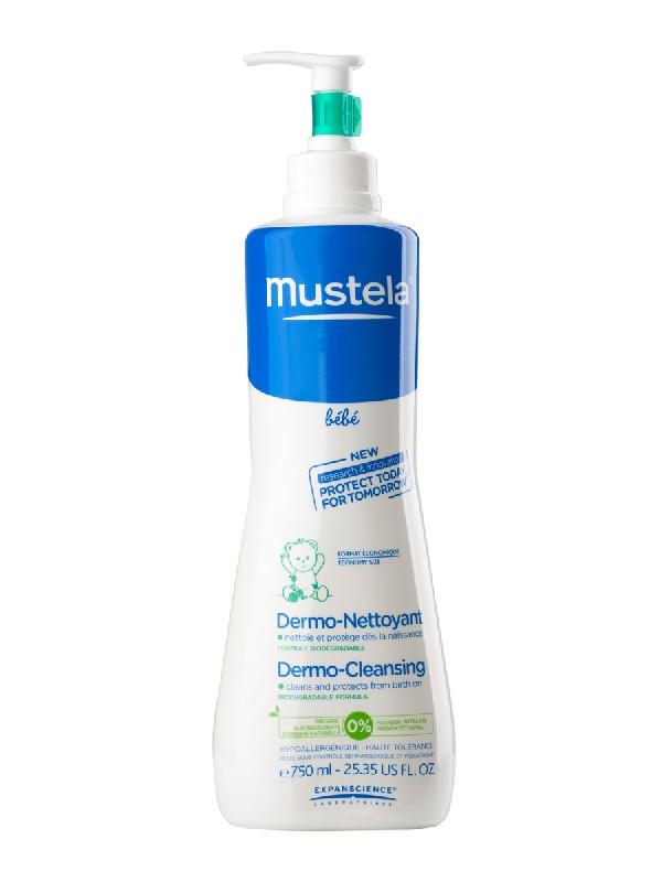 Mustela gel dermo limpiador dosificador 750 ml