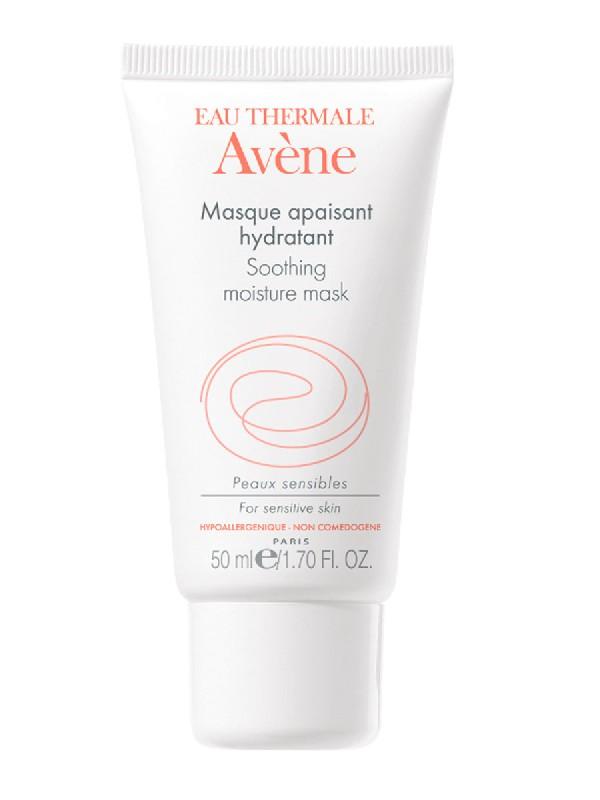 Avène mascarilla facial calmante e hidratante 50 ml