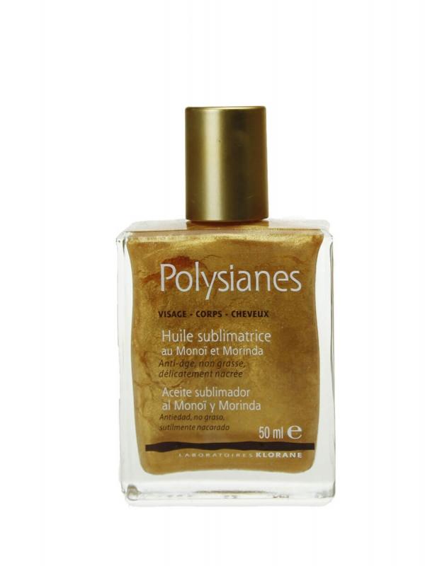 Polysianes aceite sublimador antiedad no graso de 50ml