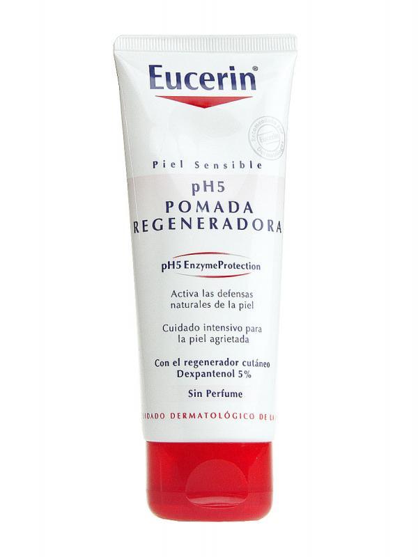 Eucerin pomada regeneradora piel sensible ph-5 100ml.
